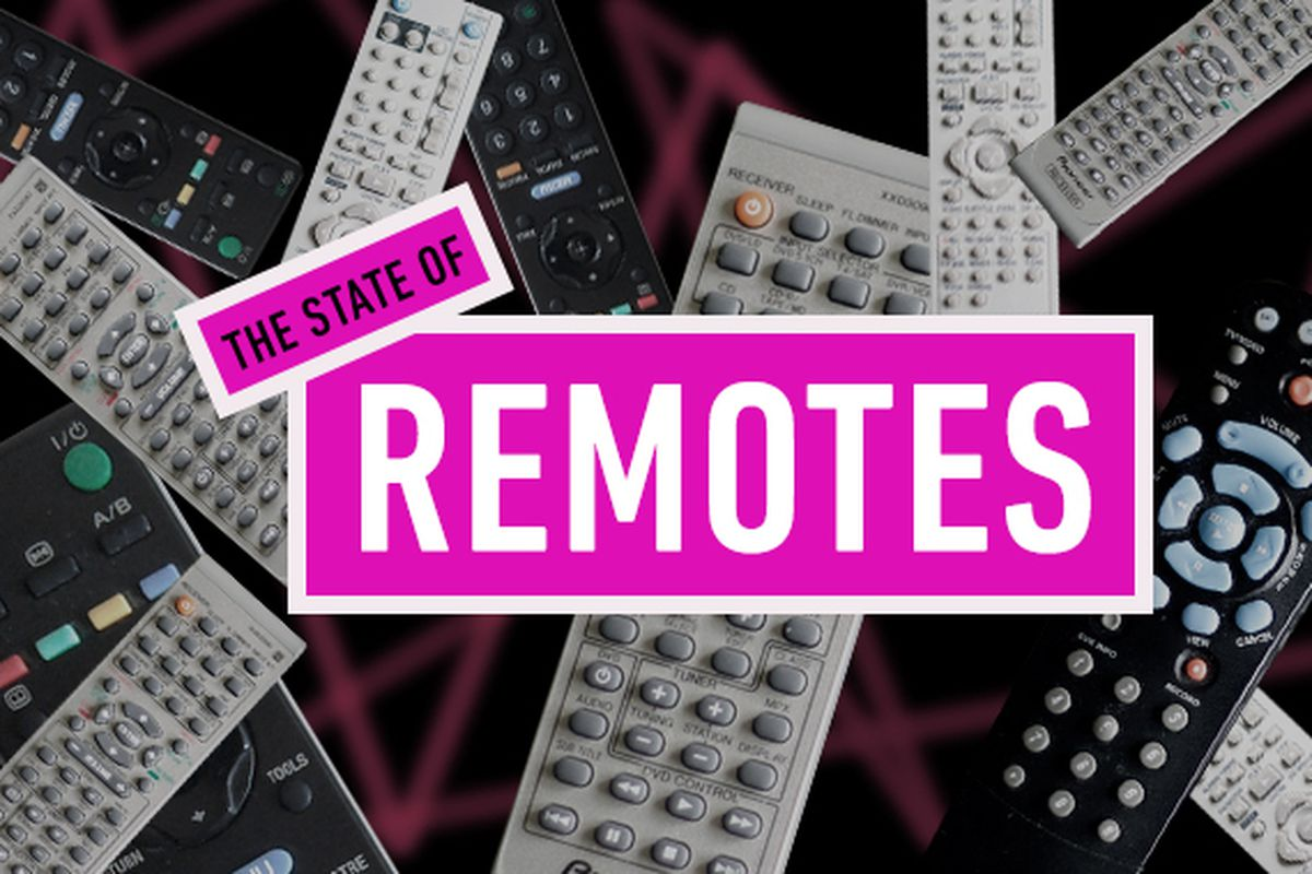 Remote control: why is turning on the TV still so hard? - The Verge