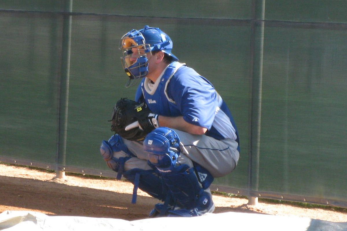 If there is a player on the Dodgers who might spearhead a Major League commercial shoot, it's probably A.J. Ellis.