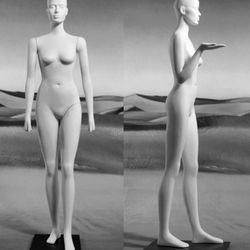 A mannequin the supermodel-turned-artist <b>Veruschka</b> created of herself, inspired by Egypitan art; 1996
