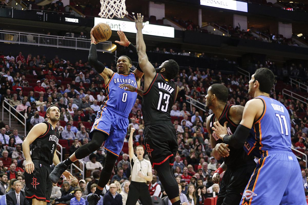 d6569e6e7d8 Oklahoma City Thunder vs. Houston Rockets playoff preview  Predictions and  views from a Dream Shake expert