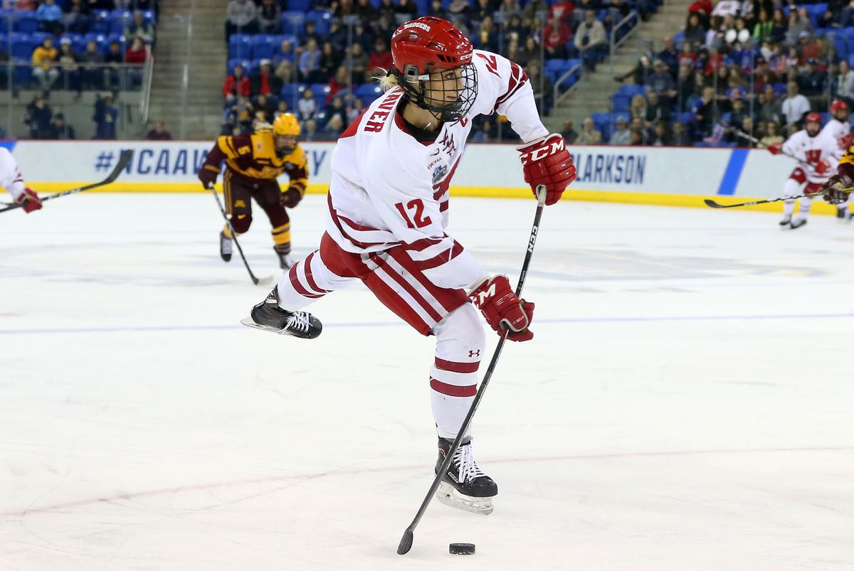 NCAA HOCKEY: MAR 24 Div I Women's Championship - Minnesota v Wisconsin