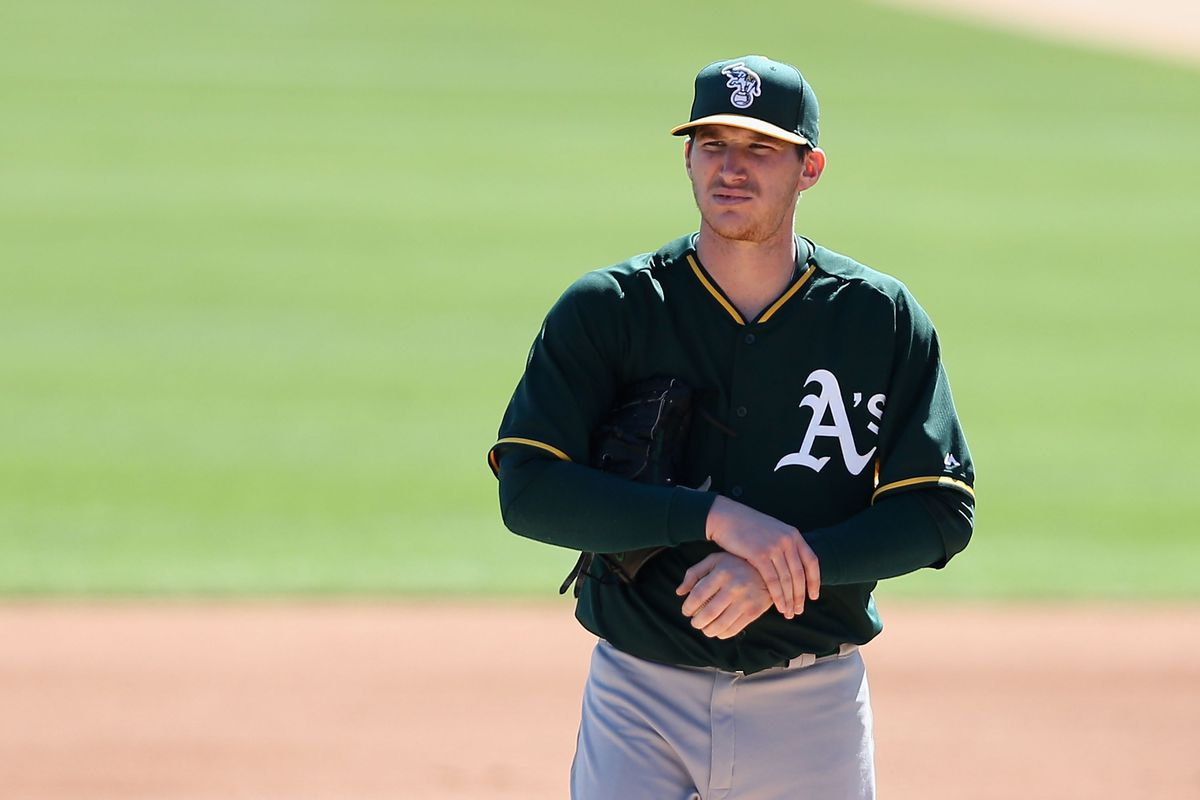 Since 2013, Jarrod Parker has lost 2 seasons and 1 arbitration case. Oh, and you're holding the wrong arm.
