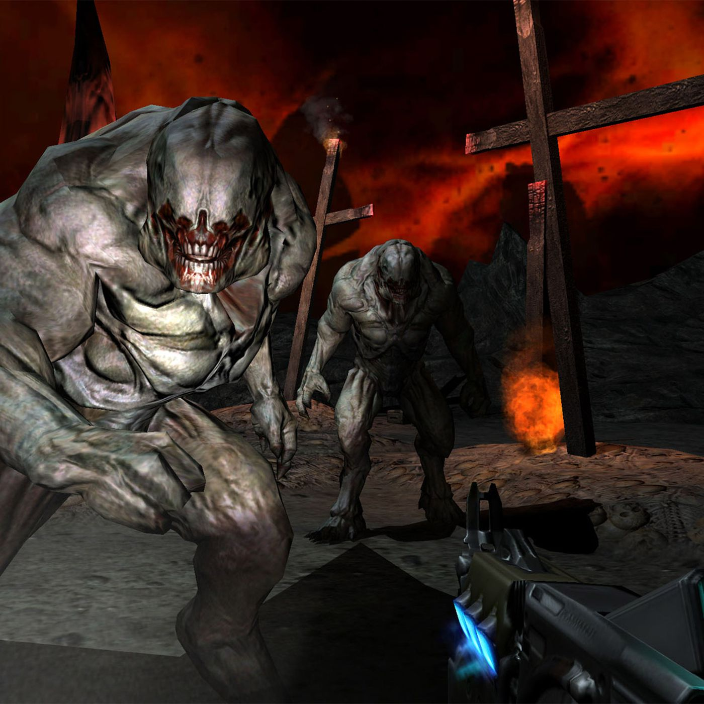 Doom, Doom 2, and Doom 3 come to Switch, PS4, Xbox One, Android and