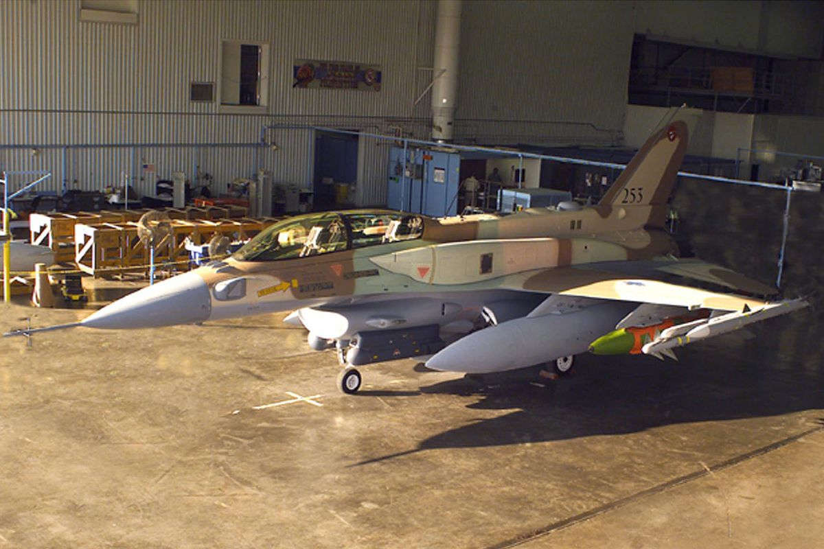 F-16 bound for the IDF rolls off Lockheed Martin's assembly line