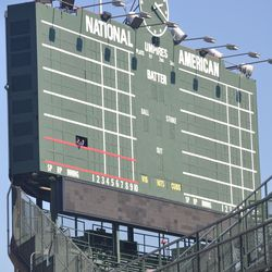 The scoreboard closed up for the winter