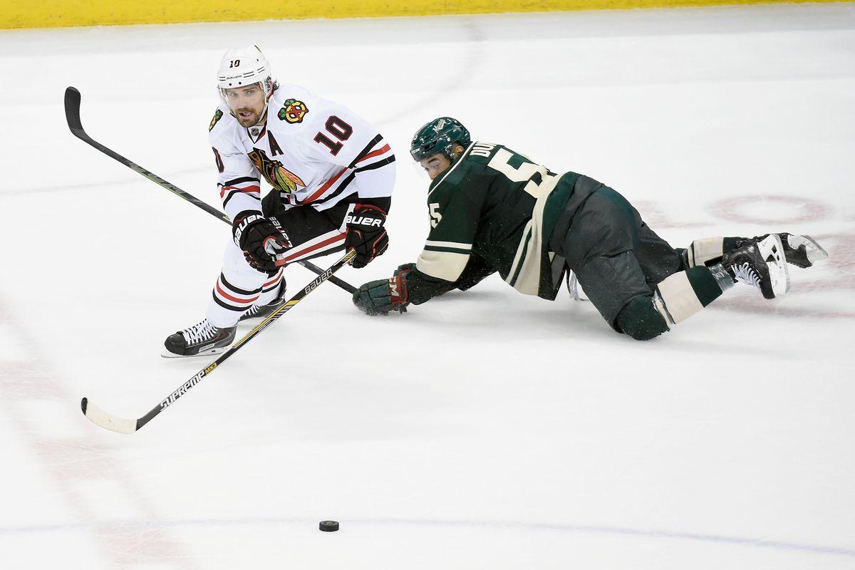 Chicago Blackhawks v Minnesota Wild - Game Three