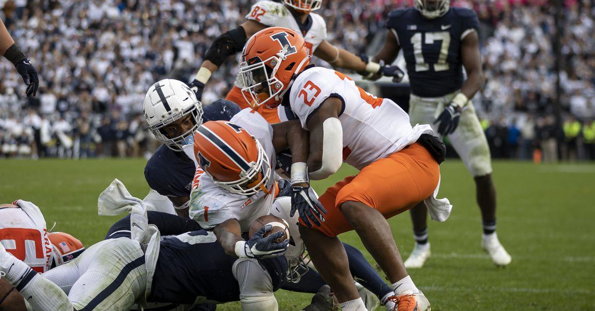 Illinois stuns No. 7 Penn State in NCAA's 1st 9-OT game