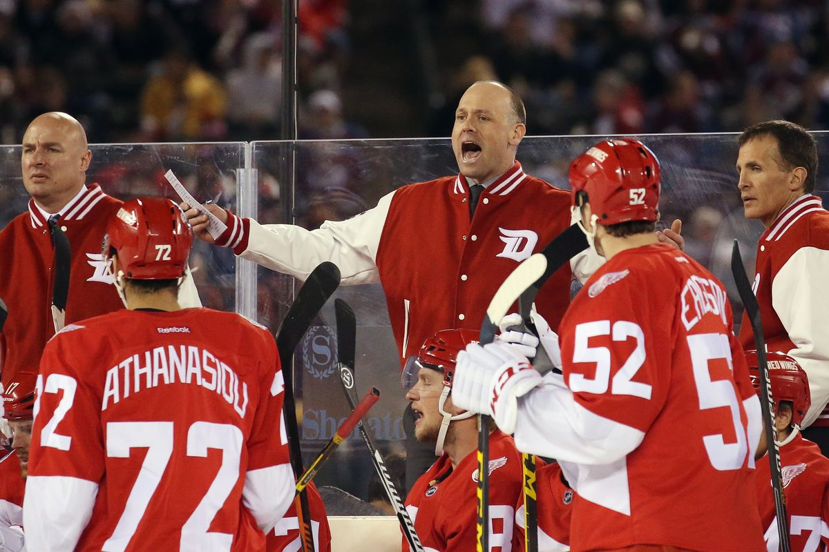 2016 Coors Light Stadium Series - Detroit Red Wings v Colorado Avalanche