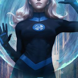 Illustrated by Artgerm.