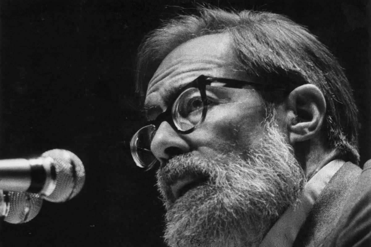 John Berryman, poet, taught at the University of Minnesota beginning in 1955 and held a Regent's Professorship from 1969 until his death in 1972.