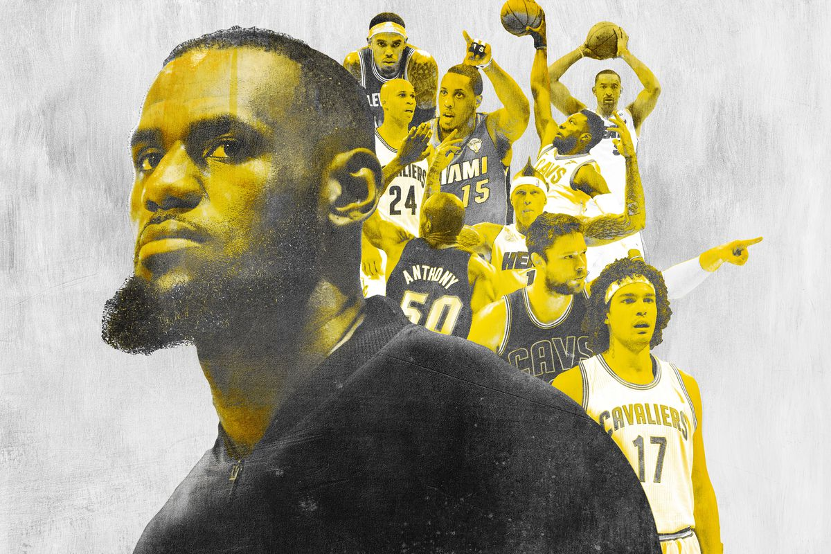 hot sale online 2306e 1a05a Ranking Every Teammate LeBron James Has Ever Carried to the ...