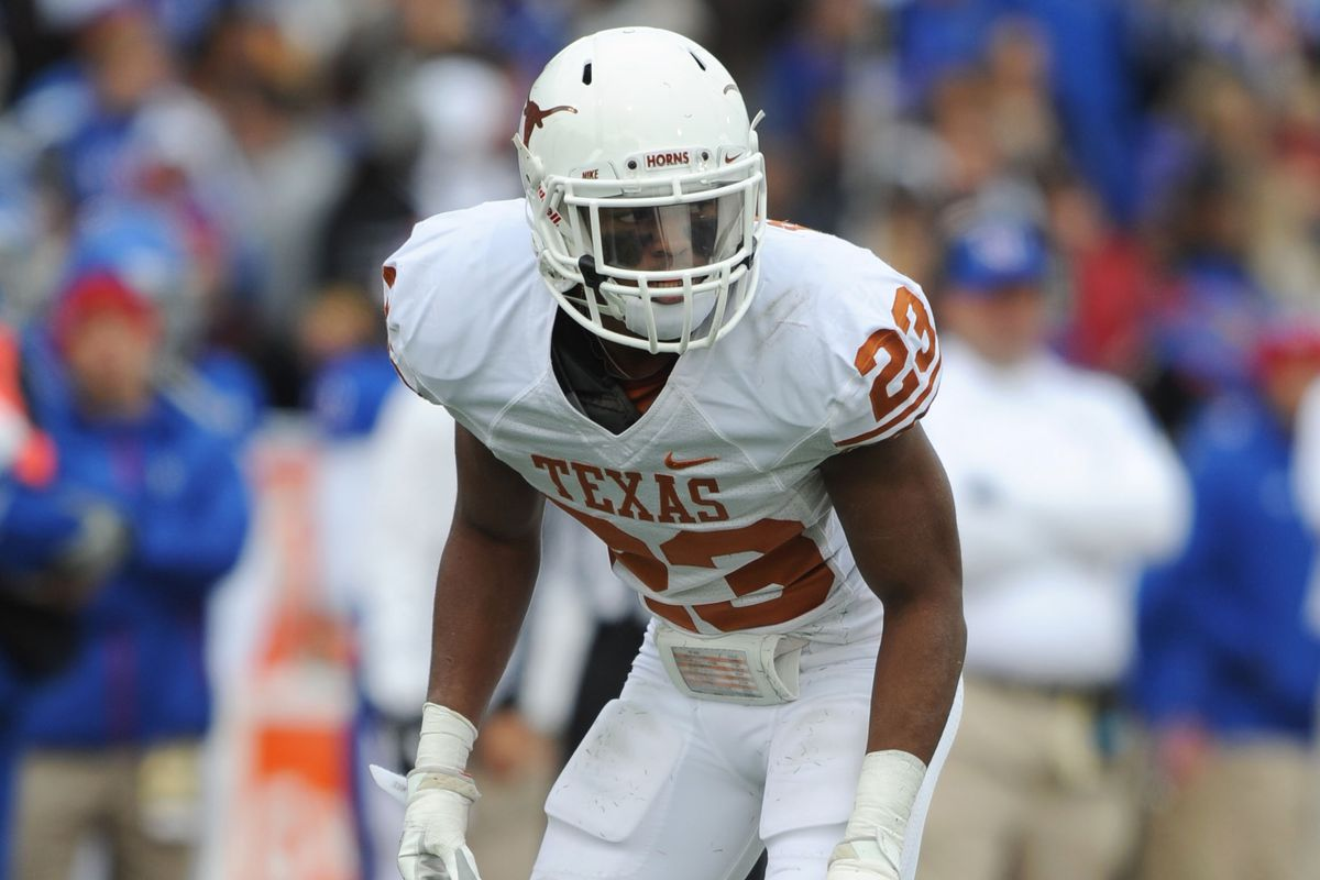 A return to form for Carrington Byndom will be huge for Texas in 2013.
