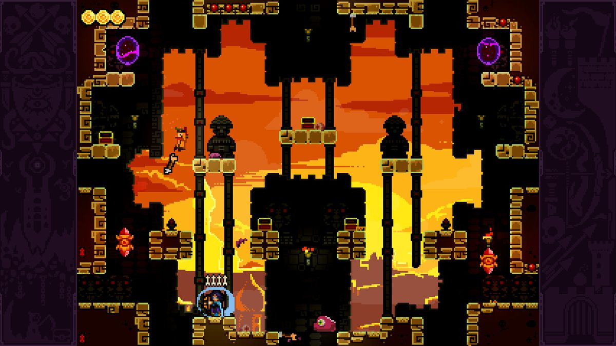 TowerFall Ascension - sunset