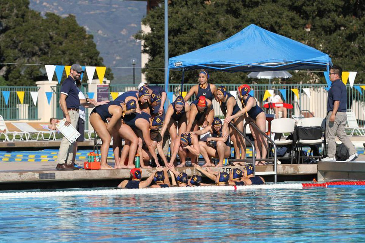 Golden Bears are competing for the NCAA Championships at Stanford this weekend.