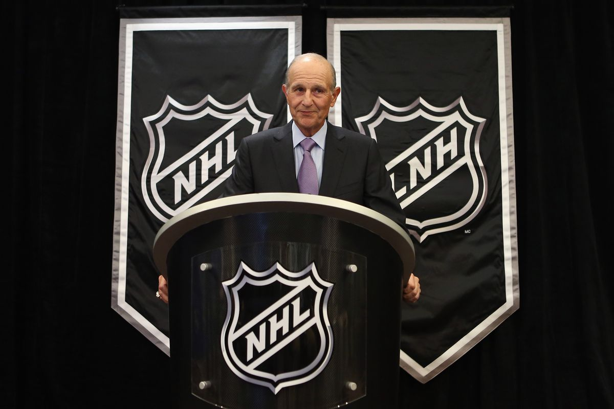 Just imagine some padlocks in front of the NHL shields.