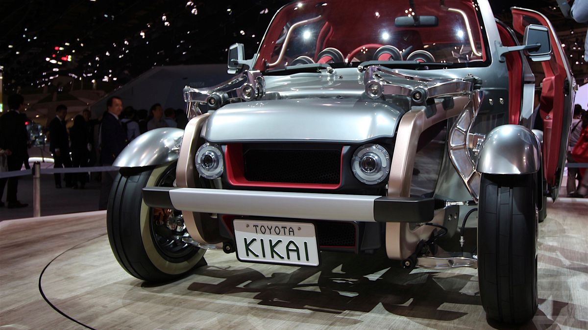 Toyotas Radical Kikai Concept Is The Anticonnected Car The Verge - Toyota show car
