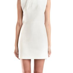 "Double Crepe Tank Dress with Arabesque Neckline, $400 (via <a href=""http://www.blueandcream.com/w_Leather/LIMPS4-9.html""> Blue and Cream </a>)"