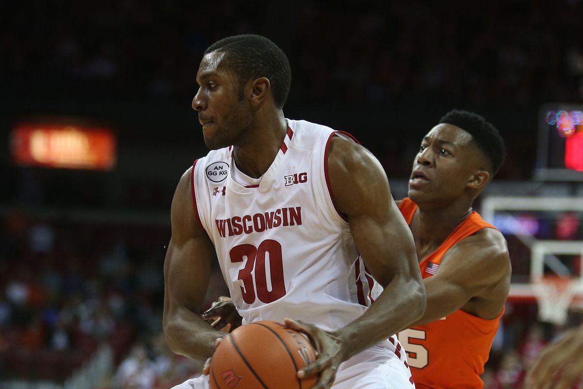 NCAA Basketball: Syracuse at Wisconsin