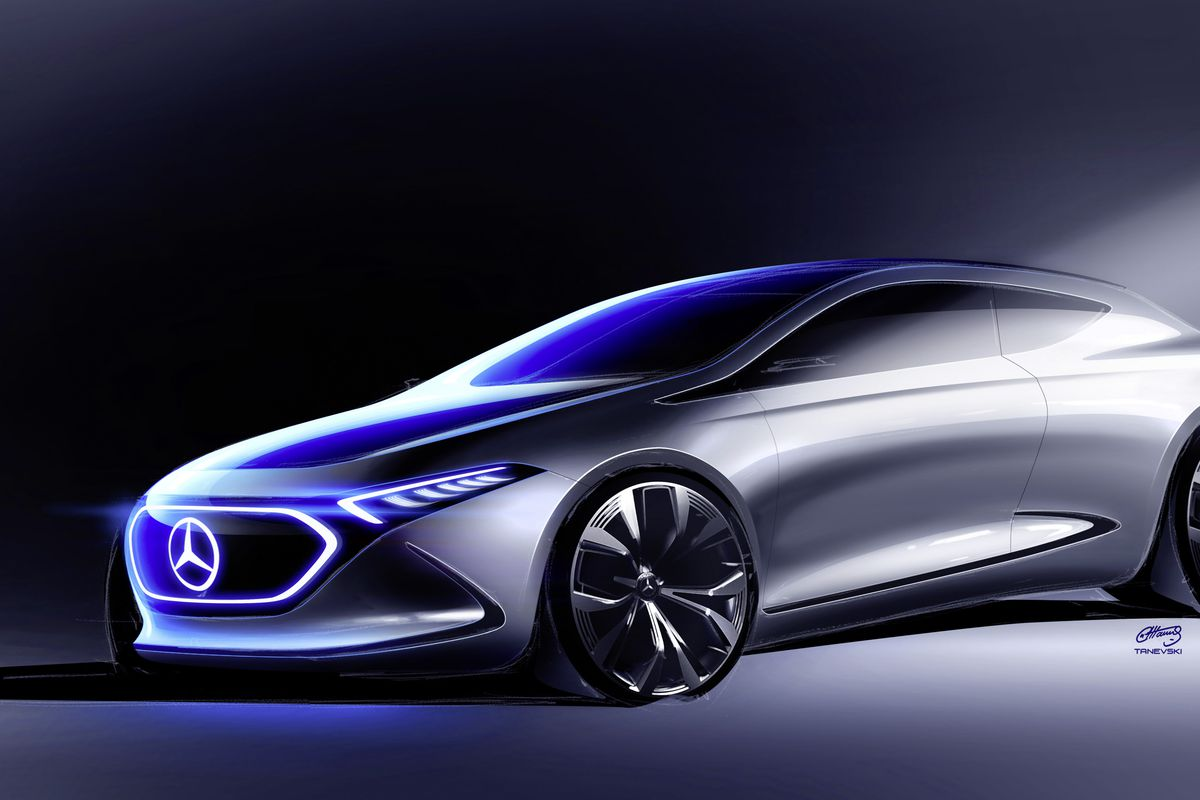 Mercedes benz concept eqa is the company s next showcase for Autos mercedes benz