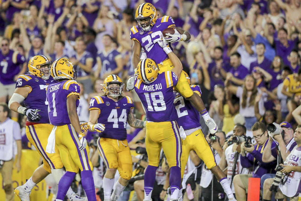 NCAA Football: Louisiana Tech at Louisiana State