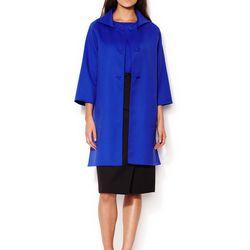 Carolina Herrera wool oversize button coat, original retail price: $2,690, Gilt City Warehouse sale price: $270