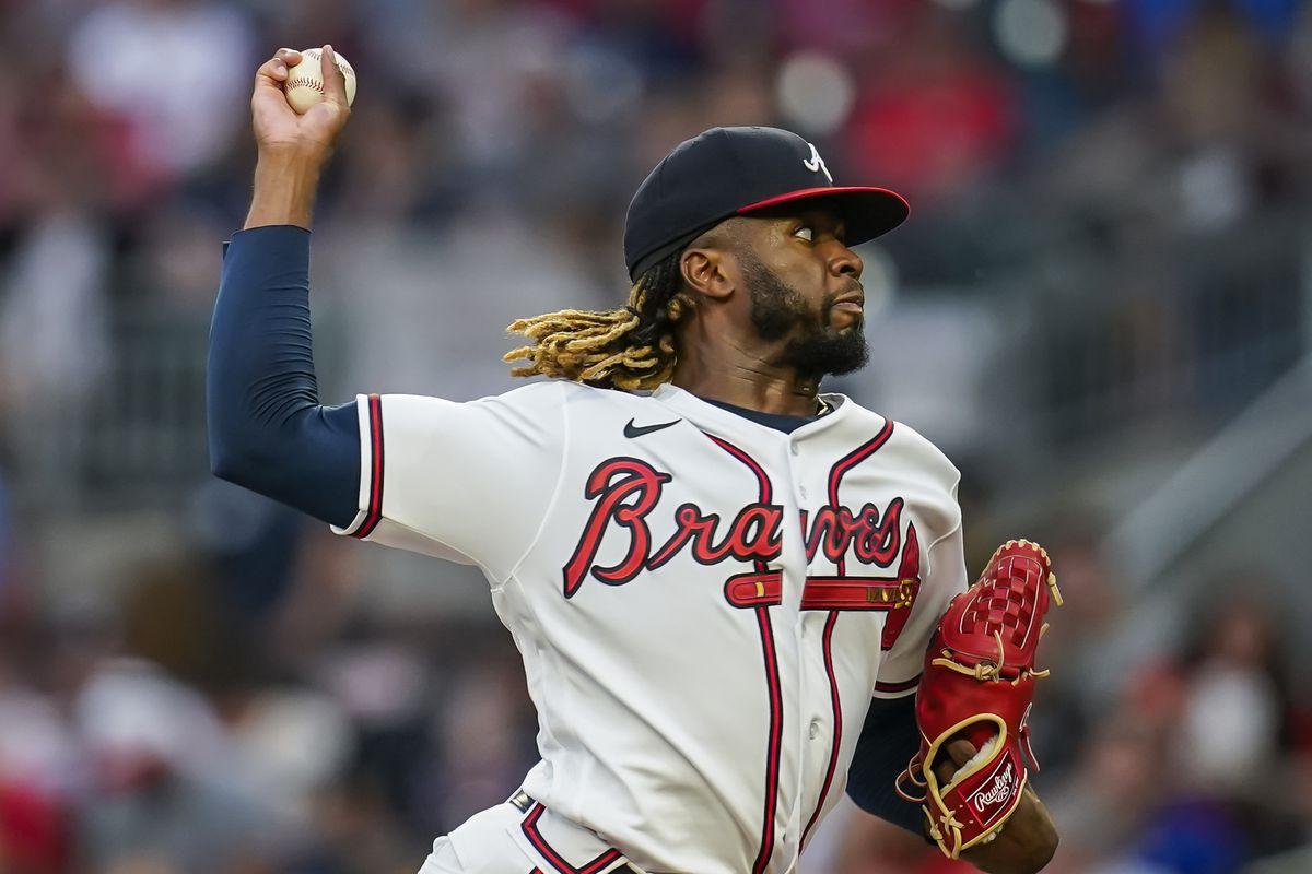 MLB: San Diego Padres at Atlanta Braves