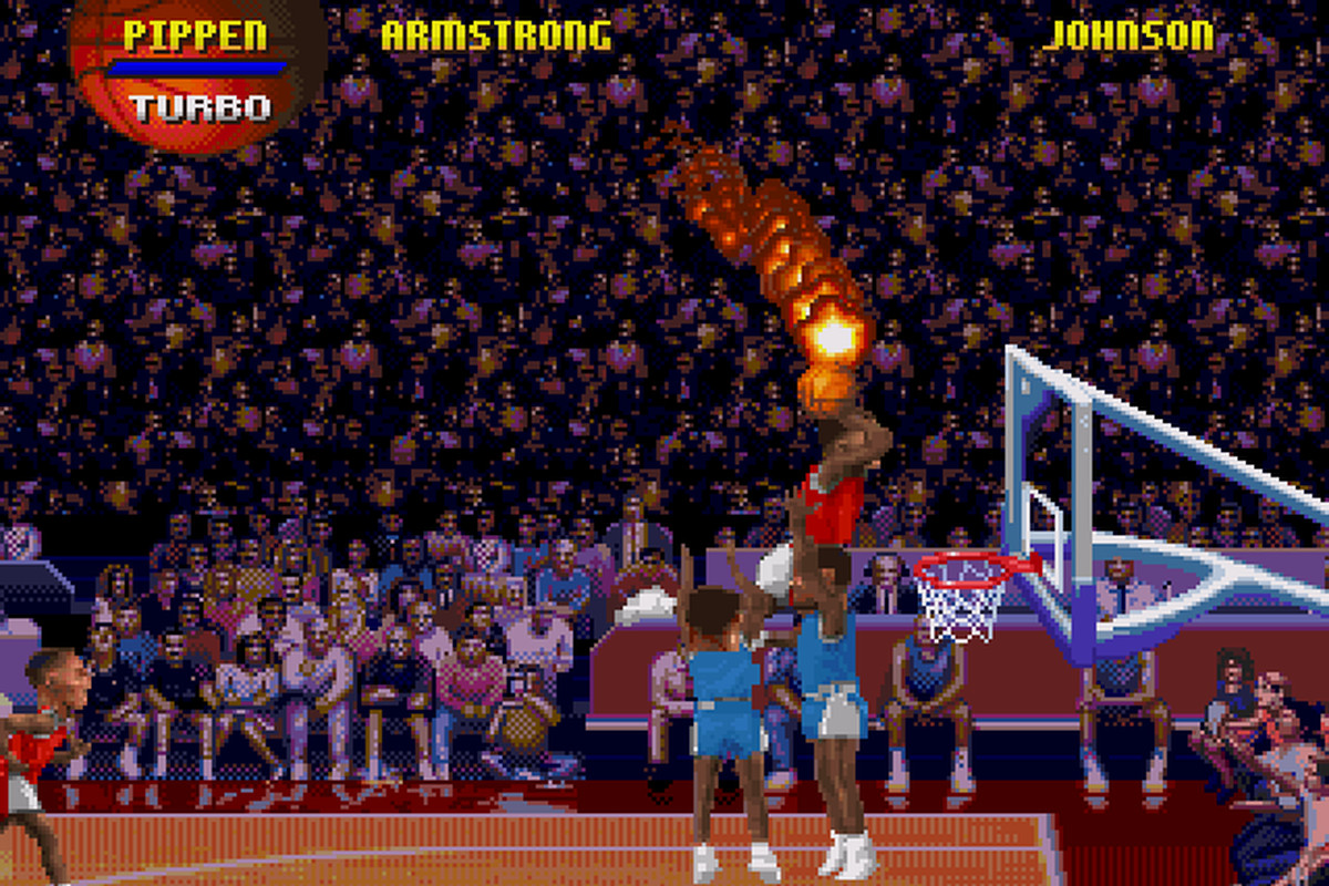 The NBA now has a real-life version of NBA Jam...