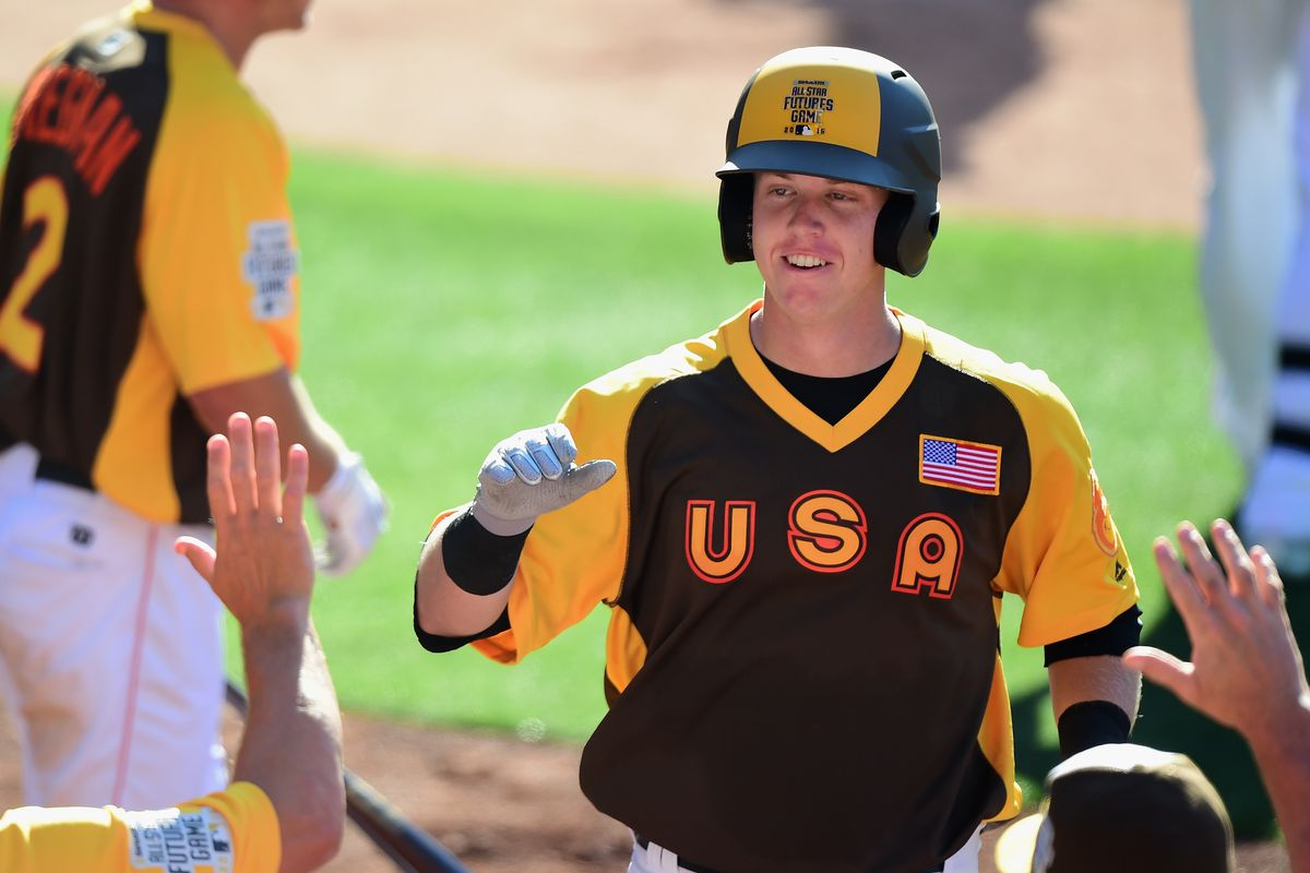 Not even Chance Sisco, pictured above at the Futures Game, could crack the top 100.