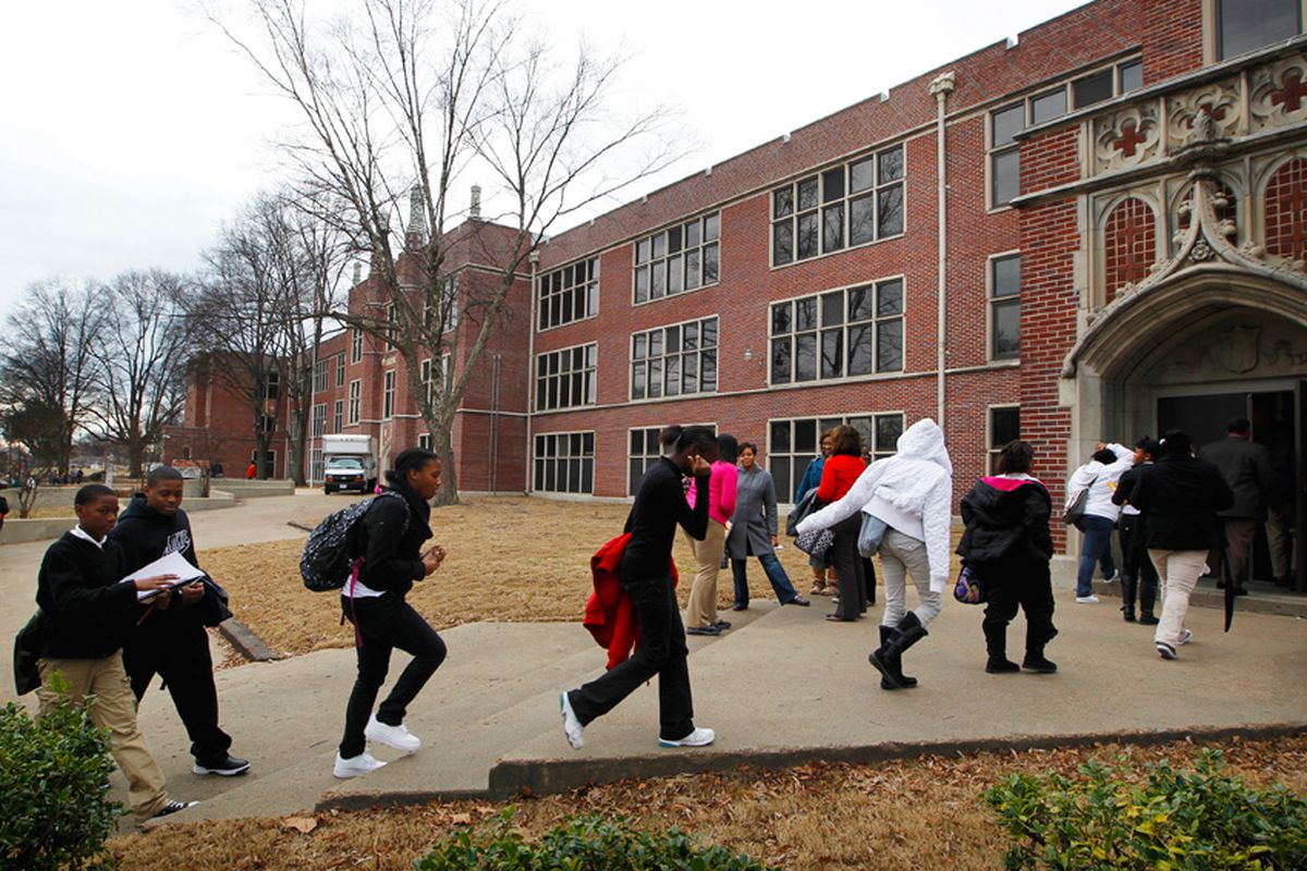 About 25 percent of students at Humes Preparatory Academy Middle School were chronically absent last year, a drop of 6 percent from 2017.