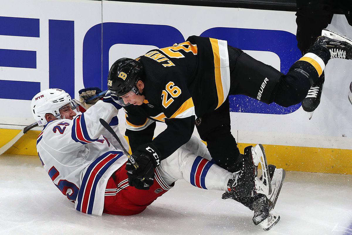 New York Rangers Vs Boston Bruins At TD Garden