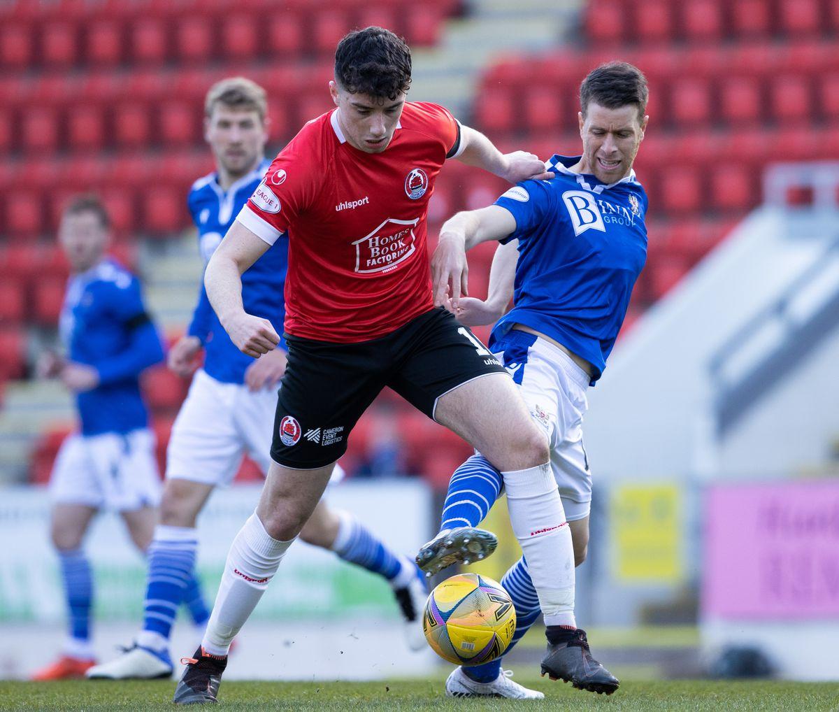 St Johnstone v Clyde - Scottish FA Cup