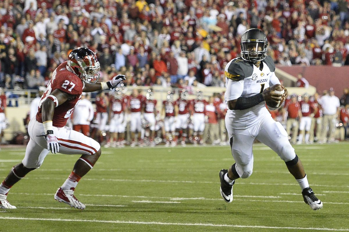 Indiana wasn't able to corral James Franklin and Missouri on Saturday.