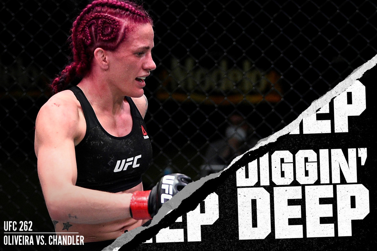 Gina Mazany fighting Rachael Ostovich at UFC Vegas 15
