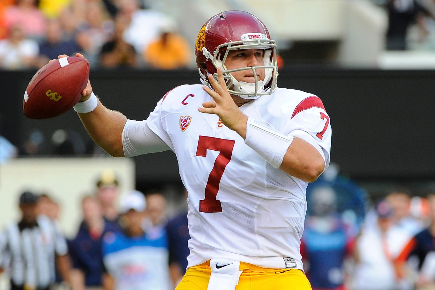 new concept 1e8c4 5b7f0 USC Football: Trojans Must Take Season One Game At A Time ...