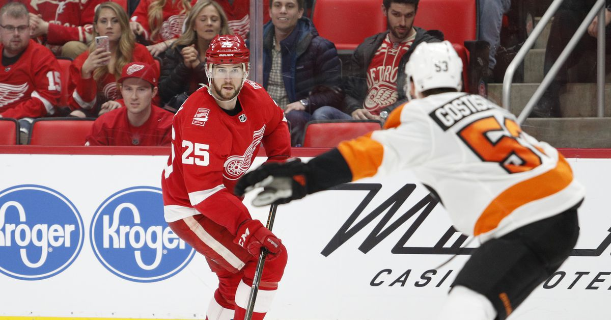 daad712fdf8 Gamethread  Red Wings vs. Flyers