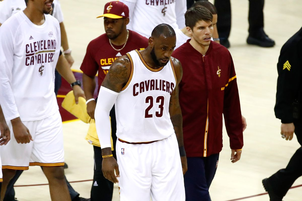 cdd8a7b1ed The Cavs have never let LeBron James down more than in Game 3 of the NBA  Finals