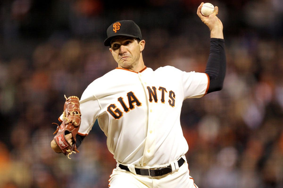 A huge chunk of fantasy owners honestly believe Barry Zito is back because of one start.  (Photo by Ezra Shaw/Getty Images)