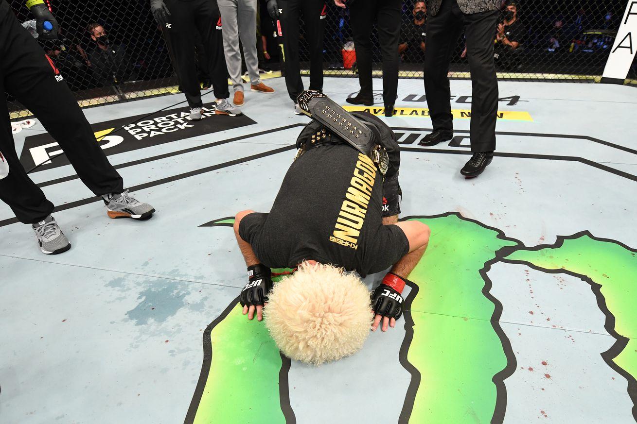UFC 254: Khabib v Gaethje