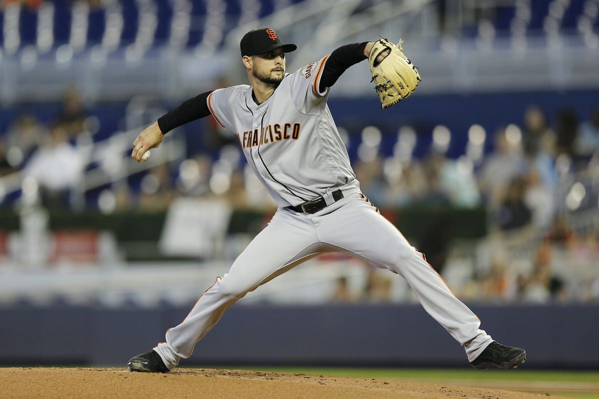 0e6f3a5e Giants beat Marlins 3-1 behind Tyler Beede and Brandon Crawford ...