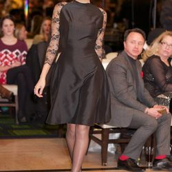 The fashion show, held in collaboration with FashionBar Chicago, took place at the Drake Hotel on February 13.