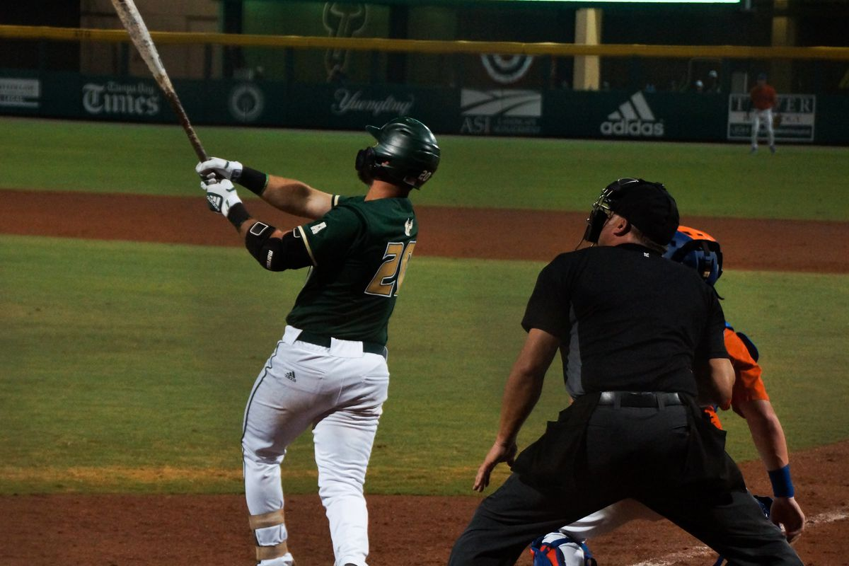 49b0876a6030 USF Baseball Two-Hits  5 Florida Gators in 6-1 Win - The Daily Stampede