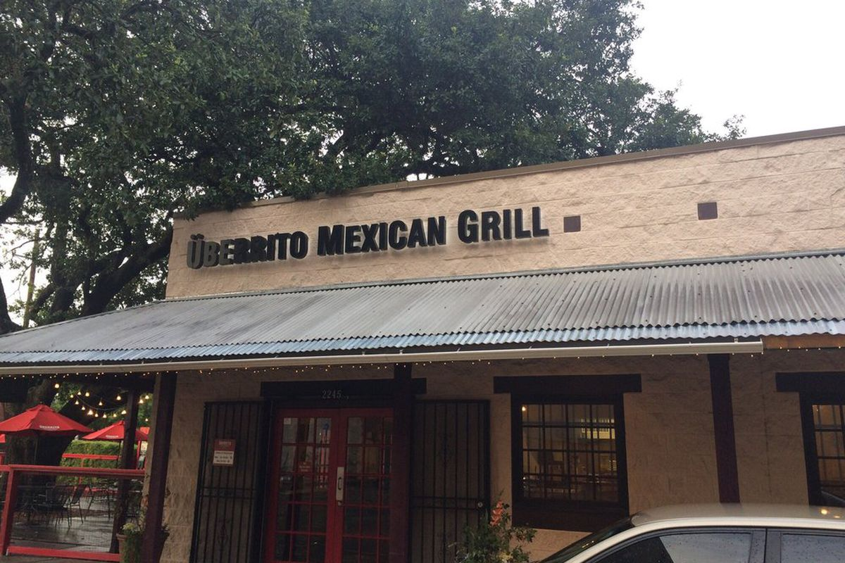 Uberrito Mexican Grill on West Alabama