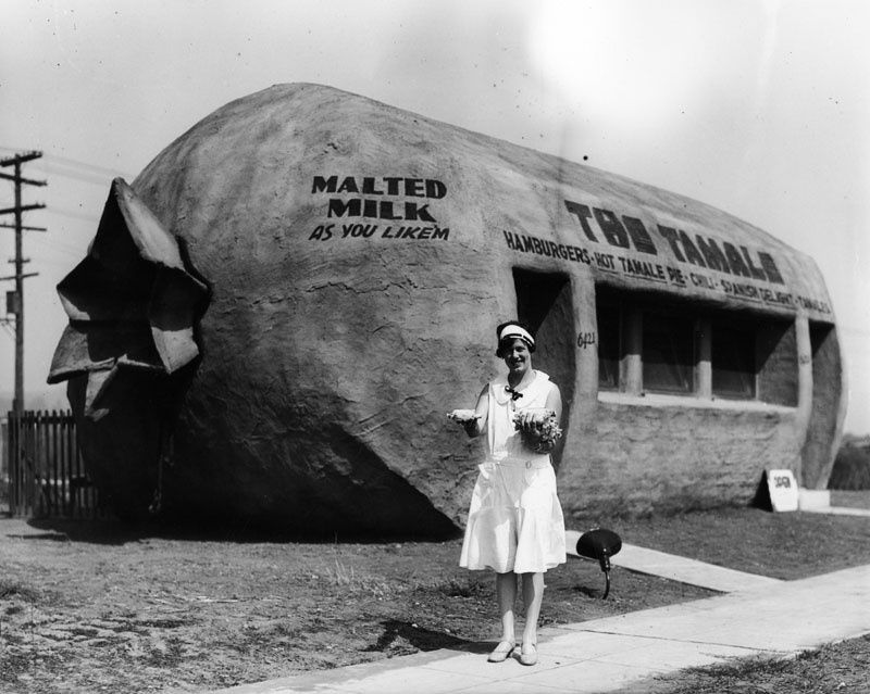 East LA's tamale building