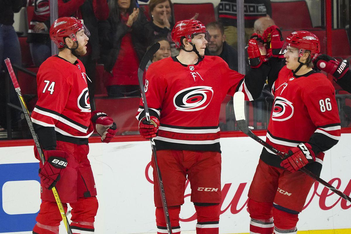 NHL: Arizona Coyotes at Carolina Hurricanes