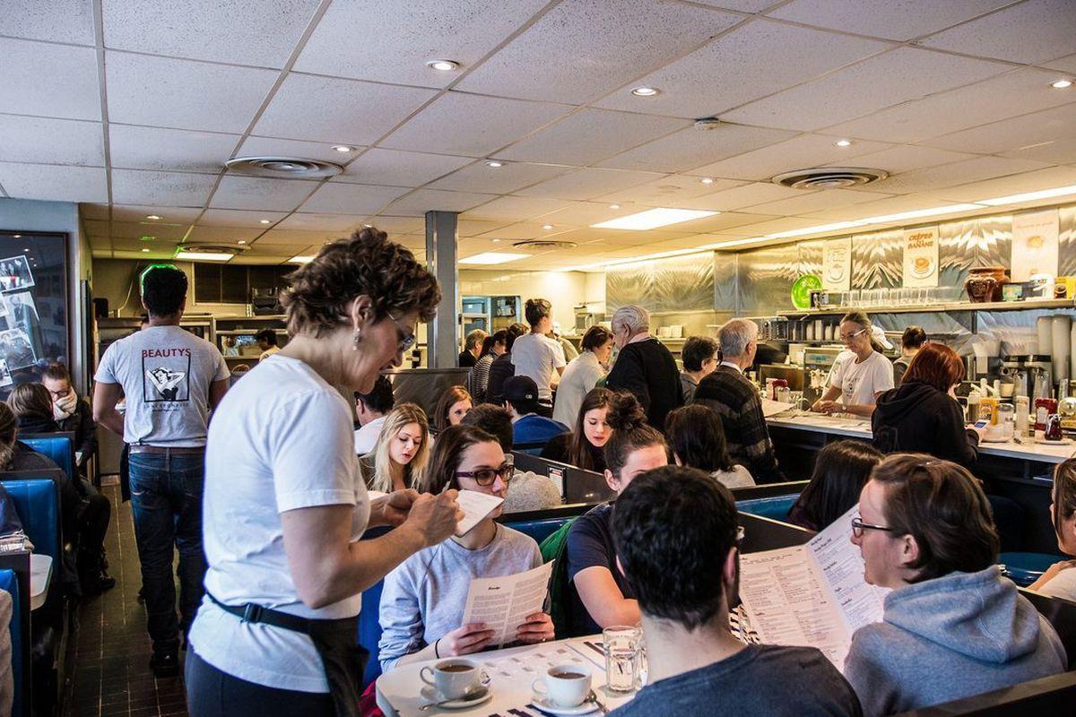 Inside Beautys Luncheonette
