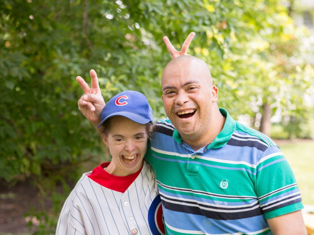 Alicia and Marcus are residents of community homes operated by Aspire, one of the nonprofit service providers pushing for the Illinois Legislature to make good on the state's funding commitment to people with intellectual and developmental disabilities.