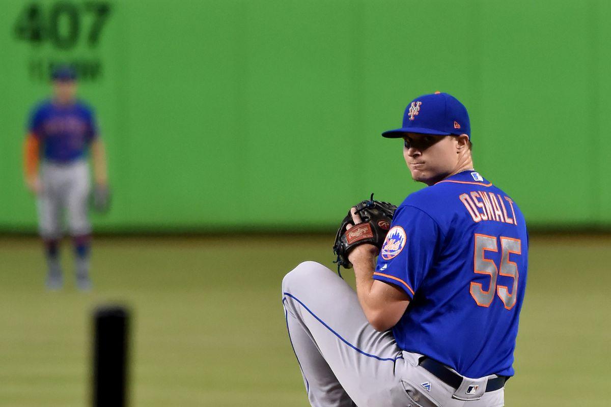 MLB: New York Mets at Miami Marlins