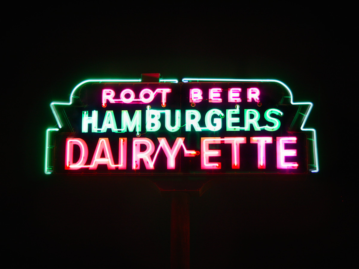 Dairy-ette is about as iconic as it gets.