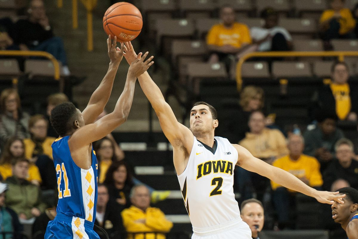 Iowa is a projected two seed. Andrew Fleming is #2. Get it? GET IT?