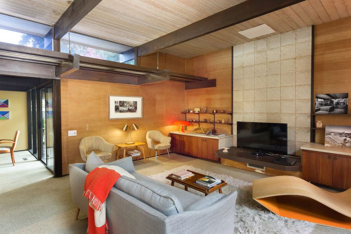 6 midcentury living rooms to inspire your decorating scheme - Curbed